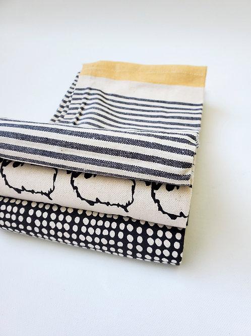 Leslie Tea Towel Set of 3