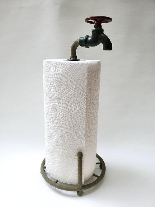Metal Faucet Paper Towel Holder