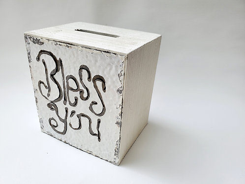 Tissue Box Cover // Bless You