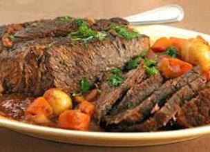 Meat, Chuck Roll Roast