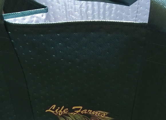 Bag, Insulated Reusable Grocery Tote Bag