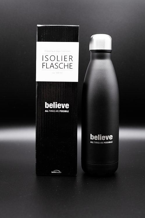 Isolierflasche Believe