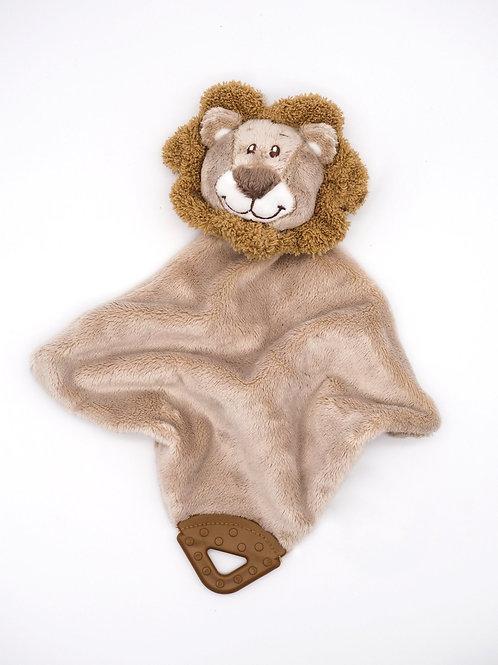 Schmusetuch Löwe mit Beißring