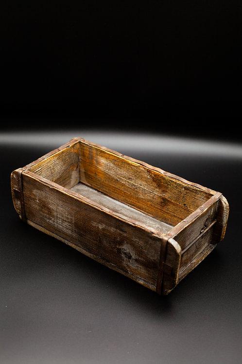 Ziegelform Holz antik