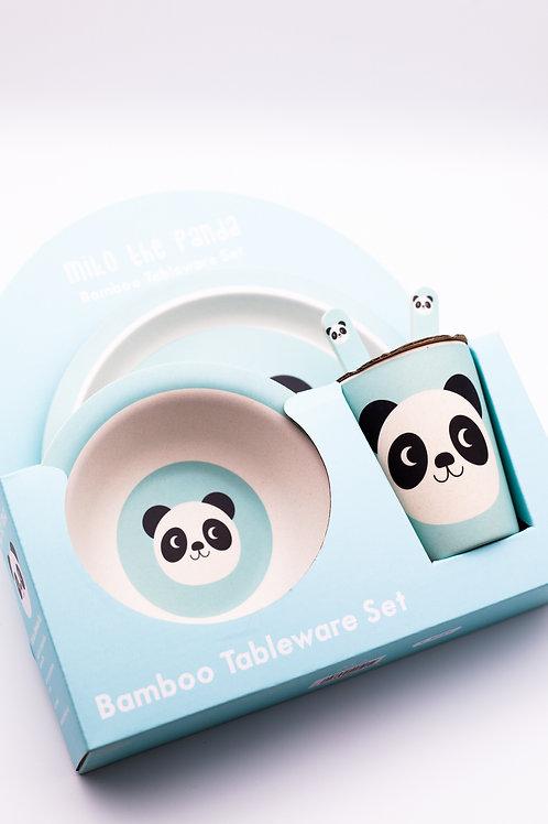 Geschirr-Set Pandabär