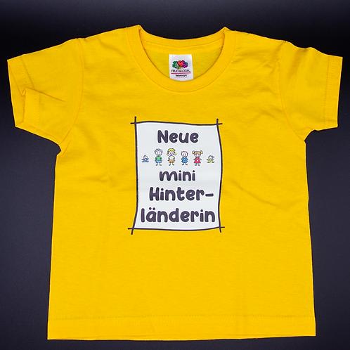 T-Shirt Mini-Hinterländer/in