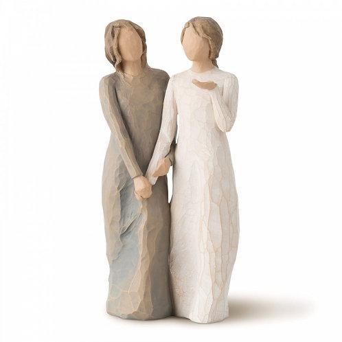 """Willow Tree Figur """"My sister, my friend"""" (Meine Schwester, meine Freundin)"""