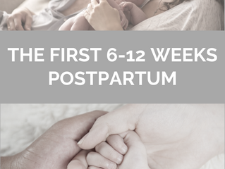 THE FIRST 6-12 WEEKS POSTPARTUM