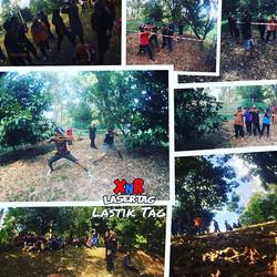 Awesome #XnRLastikTag game with UBIs ME20~~_._Hangpa shud torai lah~!_