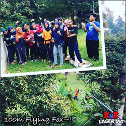 100m Flying Fox