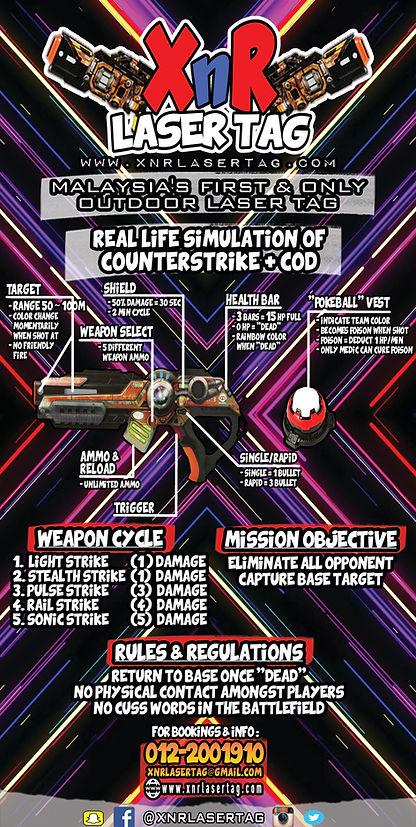 XnR Laser Tag Mobile Outdoor Laser Tag Details