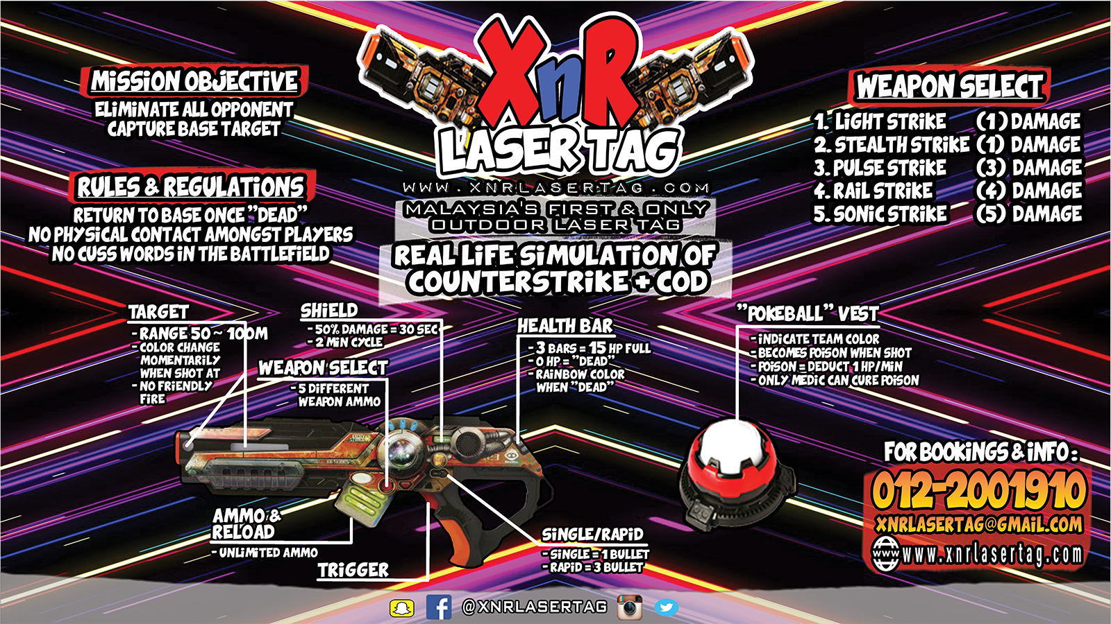 XnR Outdoor Laser Tag 1