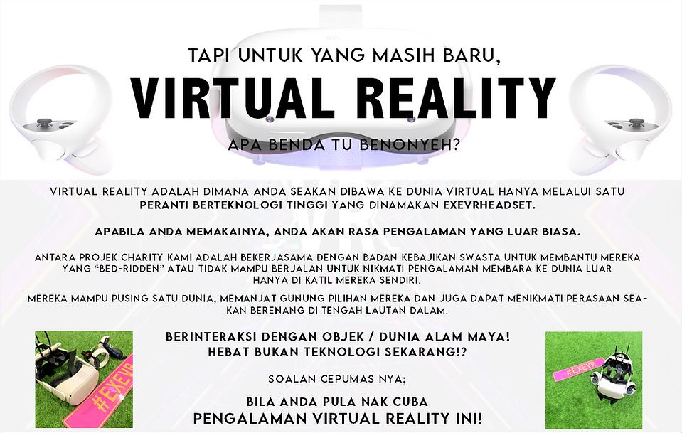 EXEVR VIRTUAL REALITY EXPLANATION