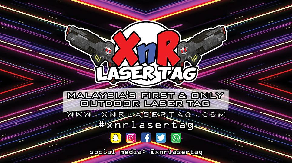 Bunting XnR Laser Tag Logo