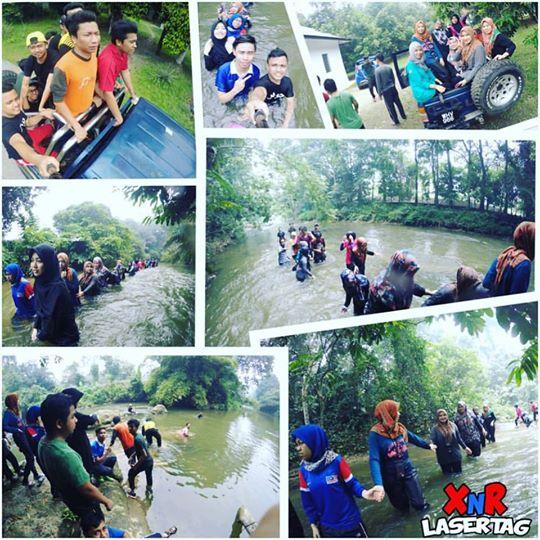 1/2km River Trekking