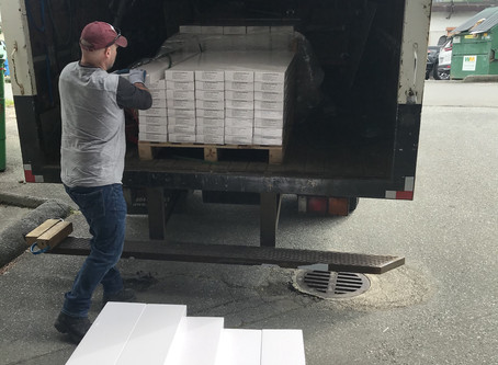 Vinyl Flooring Delivery in Vancouver BC