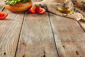 Italian Food on Old Wooden Background wi
