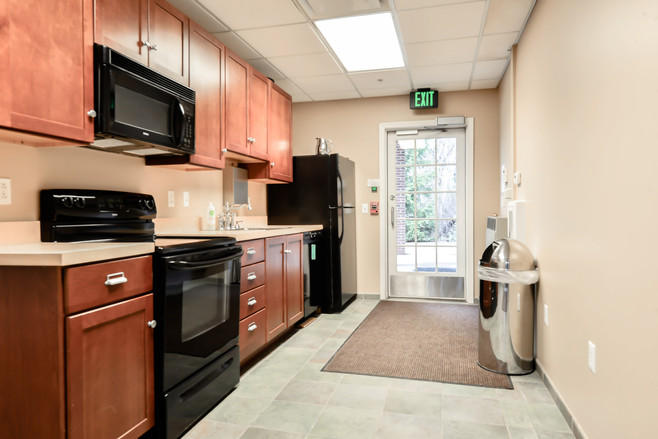 Suite 100 - Private Kitchen & Employee Entrance