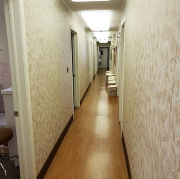 Hallway (Before Construction)