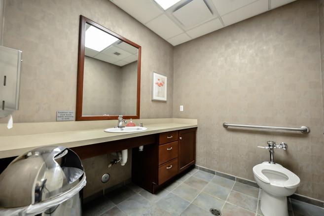 Suite 100 - Private Restroom