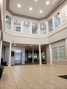 Main Lobby Entrance In Blue Stone Medical Building In Clinton Township, MI