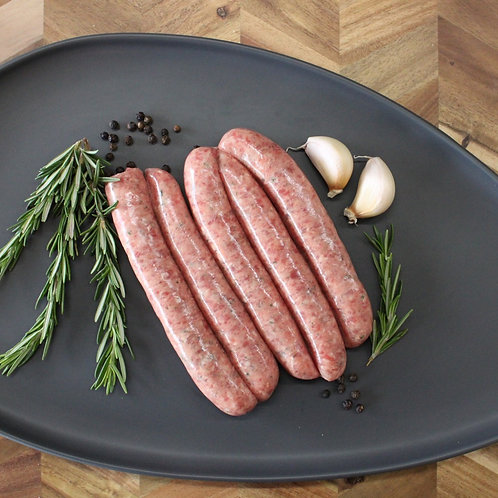 Lamb & Rosemary Sausages (GF)