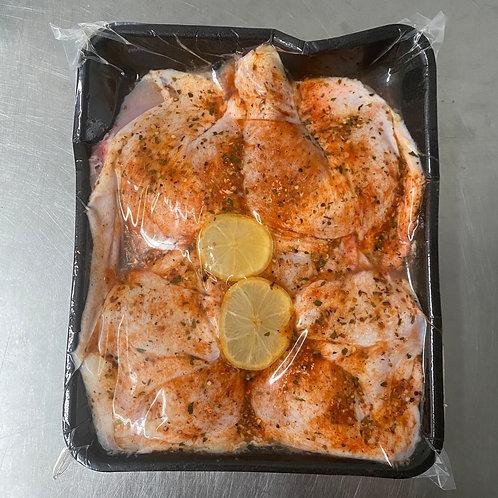 Organic Free Range Chicken Butterflied Lemon & Oregano (GF)