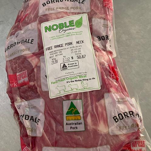 Free Range Pork Neck