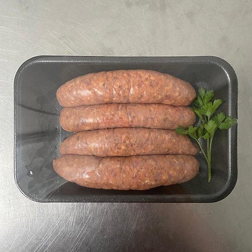 Beef Merlot & Cracked Pepper Sausages (GF)