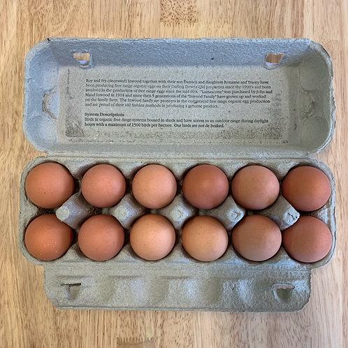 Organic Free Range Eggs - Country Range