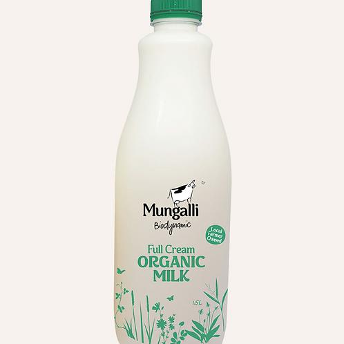 Full Cream Organic Milk