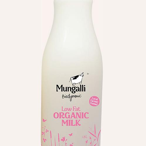 Low Fat Organic Milk