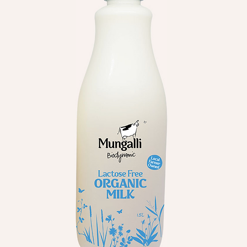 Lactose Free Organic Milk