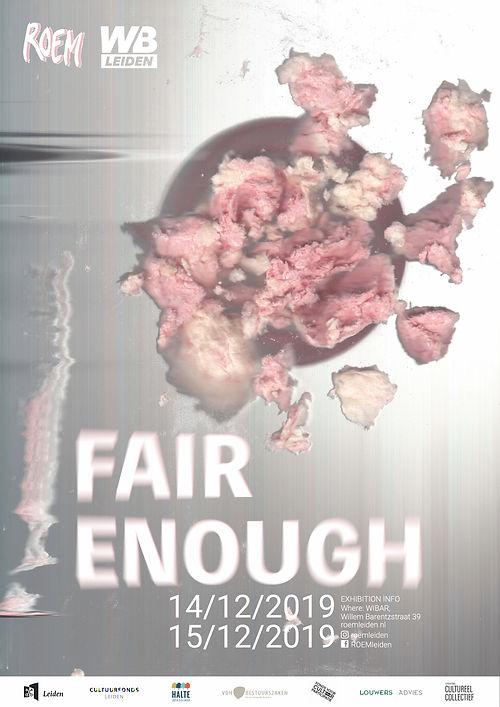 Julia July Design, Fair Enough Poster De