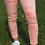 Thumbnail: Abercrombie & Fitch Peach Skinny Jeans SIZE 8 UK