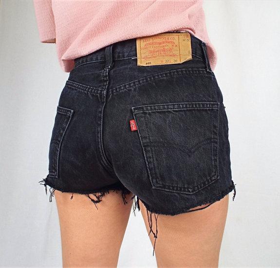 Black levi shorts SIZE 10 UK