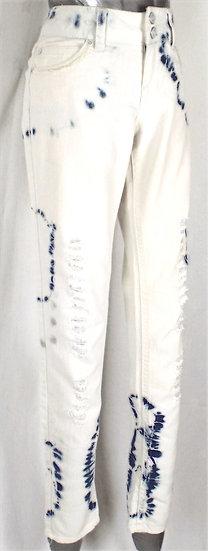 Tie dye jeans SIZE 8 UK