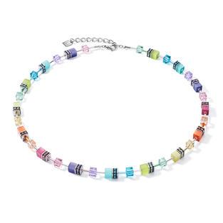 Zeitlos schöne Halskette aus der GeoCUBE® Kollektion in den schönsten Farben der Saison