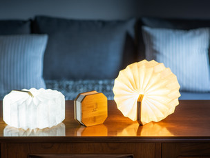 Maple Smart Accordion Lamp