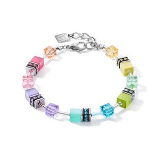 Armband GeoCUBE® fresh pastell multicolor