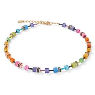Ausdruck echter Farbenfreude: Zeitlos schönes Collier aus der GeoCUBE® Kollektion.