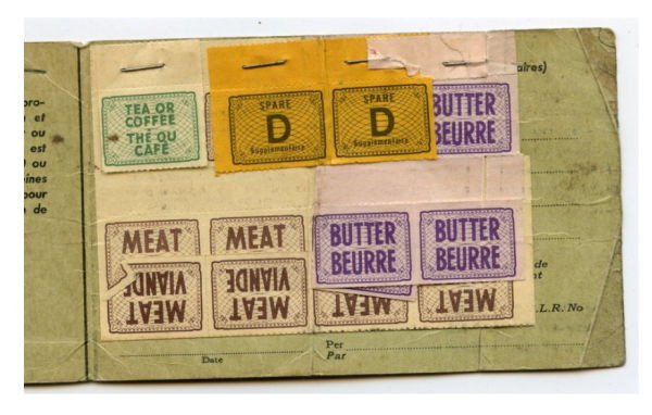 ration book wartime recipes rationing ww2
