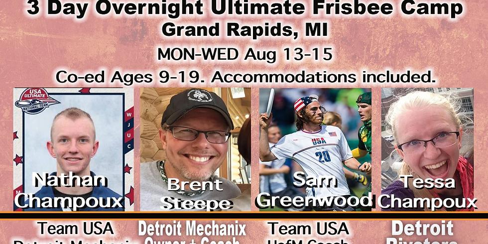 Summer Camp: August 13-15
