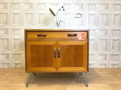 Mid Century Teak G Plan Sierra Sideboard Cabinet - Hairpin Legs