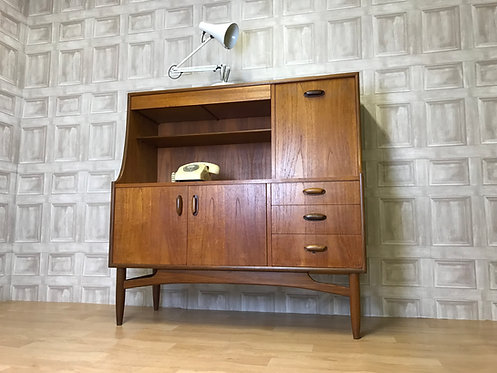 SUPERB Teak Retro G Plan Sideboard / Highboard Cocktail Cabinet