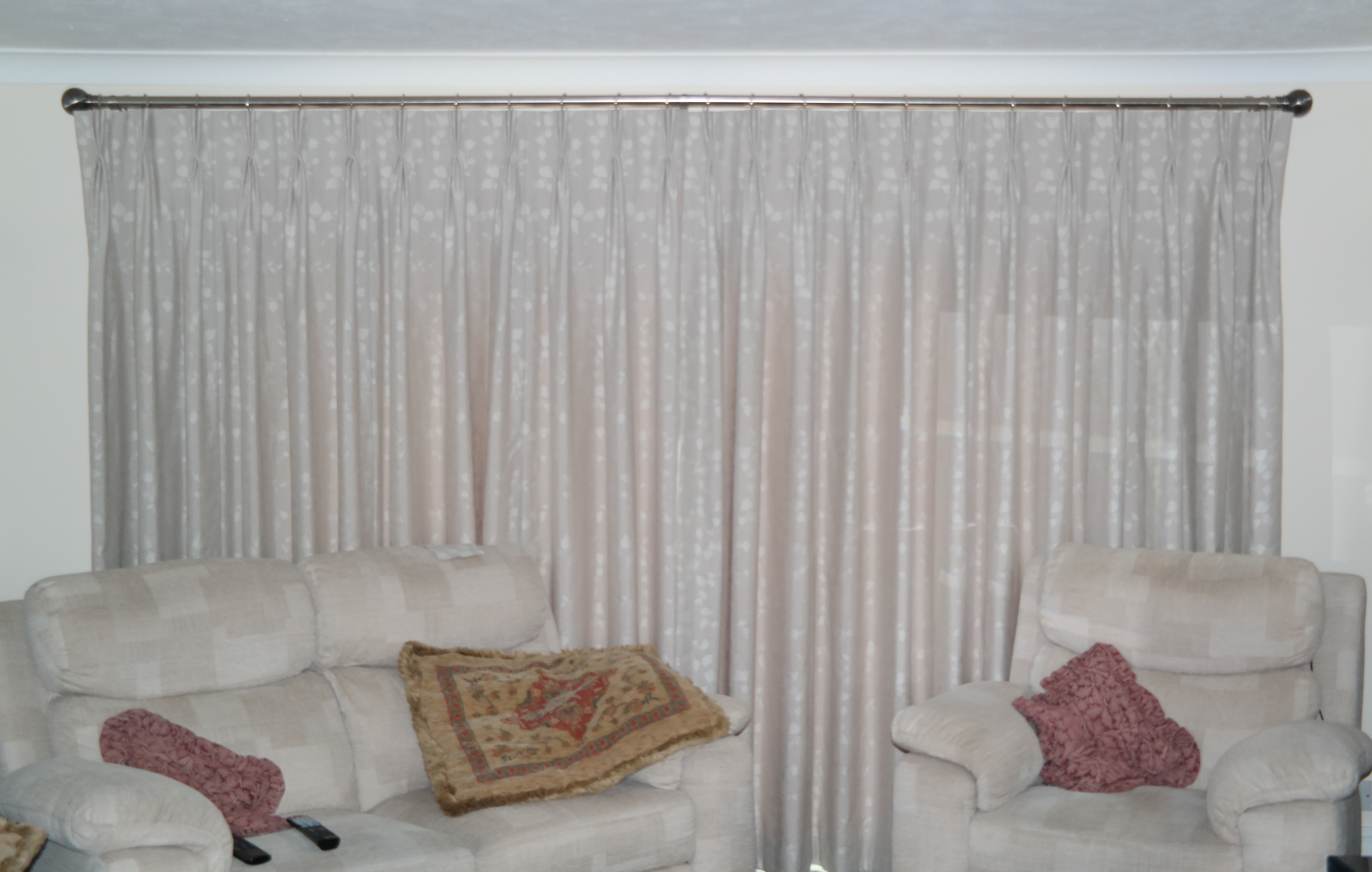Triple Pleat Interlined Curtains