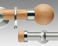 oak effect Poles