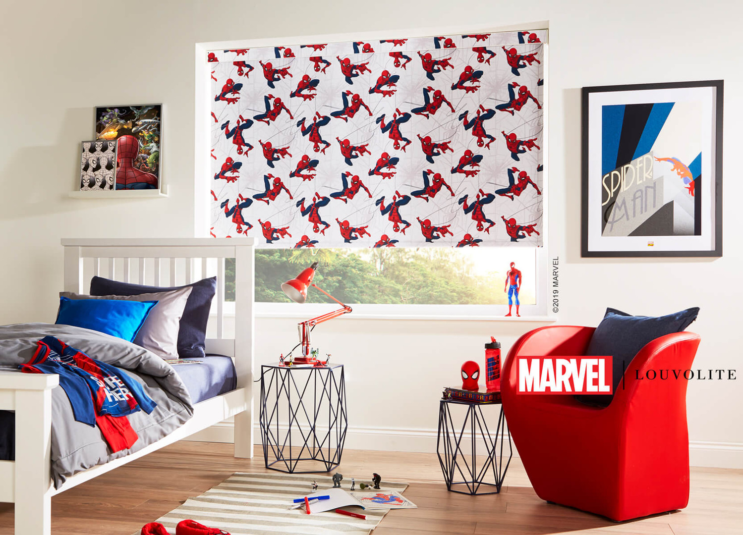 Spiderman Roller Blinds