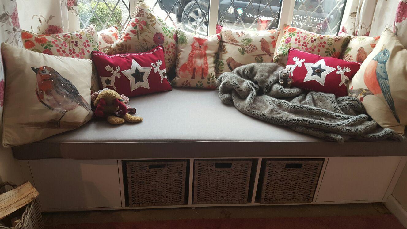 Boxed Cushion