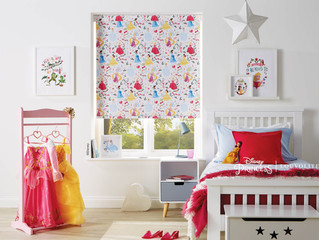 A Multitude of Disney designs featuring best loved characters for Roller Blinds.